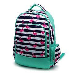 Flamingo Dot Backpack, Lunch Box, Monogrammed backpack, back pack, diaper bag FREE Monogramming Camo Backpack, Monogram Backpack, Monogram Bags, Personalized Lunch Bags, Personalized Backpack, Kids Backpacks, School Backpacks, Tote Bags For School, Blue Camo
