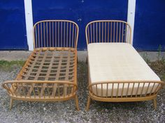 Pair of very rare Ercol beds