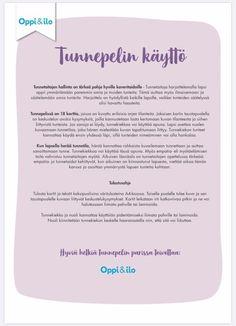 Tunnepeli tunnetaitojen harjoitteluun — KONKREETTISTA VARHAISKASVATUSTA Bullet Journal, Personalized Items