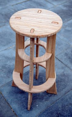 Hardware Free Bamboo Bar Stool for Stylish Buns. Our Maholla Stool is the bar stool re-imagined. Modern furniture designers too often design their furniture to require structural screws & hardware and