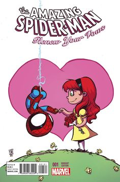 Skottie Young renueva los votos de #Spiderman y Mary Jane #Marvel