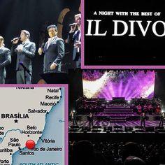 """Thank you for sharing @petrak40  RepostBy @petrak40: """"Il Divo #riodejaneiro #brasil #tour2017#anightwiththebestofildivo #ildivo#sebdivo #carlosmarinildivo #divodavimiller #ildivours"""" (via #InstaRepost @AppsKottage)"""