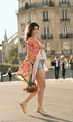 Look boho casual Camila Coutinho para Riachuelo | summer essentials collection…