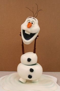 olaf cake   Olaf Cake was made by Mike's Amazing Cakes. This Disney Frozen Cake ...