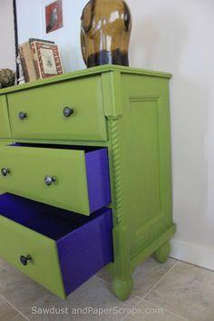 Dresser turned TV console Repinned by *Doniele Disney* www.poppiespaintpowder.com