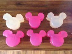Disney DIY soap - disney craft project - disney mold