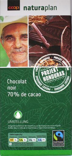 Coop Naturaplan Chocolat Noir 70% de Cacao
