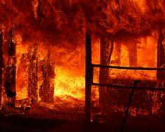 Santa Clara Fire Battles Three-Alarm Structure Fire by smokeshowing, via Flickr