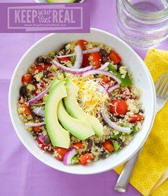 Mexican Quinoa Veggie Bowls