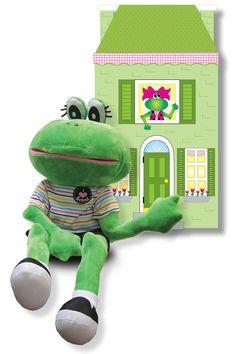 Fernando Frog Puppet - Frog Street Pre-K - Curriculum    Frog Street Press