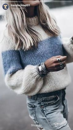 Fluffy Sweater, Mohair Sweater, Pullover Sweaters, Knitting Sweaters, Cardigans, Women's Sweaters, Striped Sweaters, Oversized Sweaters, Mohair Yarn
