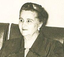 La escritora costumbrista Doña Sofía Ospina de Navarro fue escogida como Matrona Emblemática de Antioquia en 1988. Archivo CIP-El Colombiano