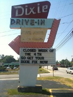 Dixie Drive-In   600 Montague Avenue, Greenwood, SC 29649     864-229-2312