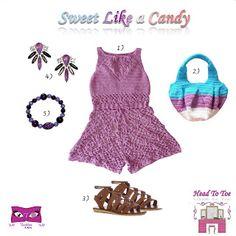 Kat Rose Fashion Head To Toe: Sweet Like a Candy