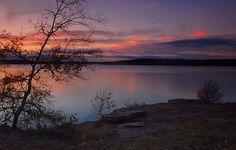 Greer's Ferry lake in Heber Springs, Arkansas