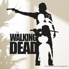 Hey, I found this really awesome Etsy listing at https://www.etsy.com/listing/211919058/walking-dead-wall-decal-sticker-decor