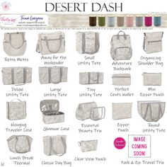 Desert Dash – Spring 2020 Available March – May while supplies last. Trina Lovegren, Thirty-One Consultant www. Thirty One Uses, My Thirty One, Thirty One Gifts, Thirty One Organization, Room Organization, Thirty One Catalog, Thirty One Party, Thirty One Business, Thirty One Consultant