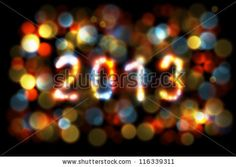 stock vector : Christmas / New Year card 2013. Eps10 vector.