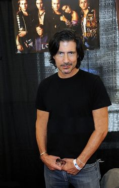 Billy Wirth - Looking very handsome at the  Pasadena Horror Convention  April 23rd 2016