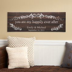 You Are My Happily Ever After Canvas | Personal Creations
