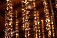 Golden Origami Cranes Sparkle as Wedding Decor ~ we ❤ this! moncheribridals.com