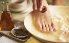 My feet are just plain tired from being tired. I was on a mission to find you a few DIY foot scrubs and soaks. Here are 12 to soothe your feet.