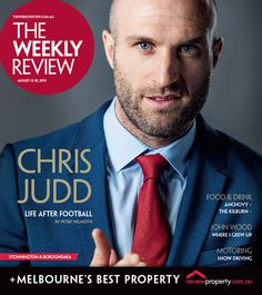 Chris Judd for August 12 2015 cover. Photo by Scott McNaughton.