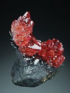 Rhodochrosite from N'Chwaning mine, Kalahari Manganese Fields, Northern Cape Province, South Africa