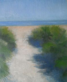 "sand dunes. oil on canvas.8""x10""."
