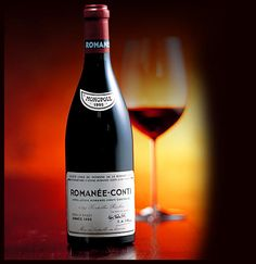 The mythical Romanee Conti (Burgundy, France)...  One of the best, extremely rare and most expensive wines in the world...