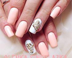 Butterfly nails Nude Nails, Nail Manicure, Butterfly Nail, Nail Art Designs, Nailart, Polish, Beauty, Fashion, Finger Nails