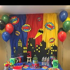 Most popular spiderman birthday party for kids 24 Ideas Superman Birthday Party, Avengers Birthday, 4th Birthday Parties, Third Birthday, 5th Birthday Ideas For Boys, Super Hero Birthday, 4 Year Old Boy Birthday, Disney Cars Birthday, Batman Party