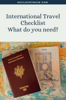 Don't get caught out. Use our international travel checklist to make sure you've got all the correct documents and paperwork for travelling abroad. Travel Advice, Travel Guides, Travel Tips, International Travel Checklist, Getting A Passport, Travel Advisory, Medical Prescription, Travel Abroad, Learn To Read