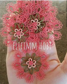 Crochet Unique, Tatting Patterns Free, Tea Coaster, Tatting Lace, Free Pattern, Crochet Earrings, Sewing, Crafts, Asdf