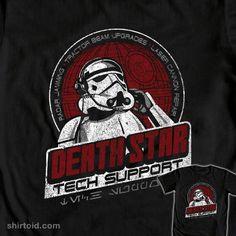 Death Star Tech Support t-shirt