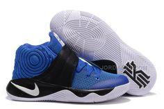 http://www.jordan2u.com/nike-kyrie-2-ii-royal-blueblackwhite-kyrie-sneakers-sale.html Only$69.00 #NIKE KYRIE 2 II ROYAL BLUE/BLACK-WHITE KYRIE SNEAKERS SALE #Free #Shipping!