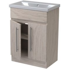 Atlanta Concepts Zest Floor Standing Vanity Unit 600mm Odessa Oak/Odessa Oak