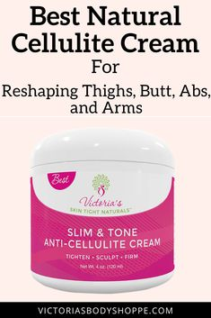 Slim & Tone Anti-Cellulite Cream is a synergy of multi-ingredient and multi-benefit body firming cream specifically formulated for shaping, contouring and firming the body. It helps to detox the skin, remove toxins, decrease dimply formations and help maintain the appearance of toned smooth looking skin. #anticellulitecream #anticellulitetreatment #anticellulite #skintightening #skintighteningcream #firminglotion #bodywarpscream #getridofcellulite #anticellulitedietplan #anticellulitediet Skin Tightening Lotion, Body Firming Cream, Cellulite Cream, Anti Cellulite, Benefit, Cellulite Remedies, Skin Secrets, Skin Tips, Skin Detox