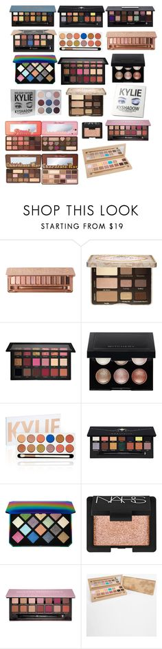 """""""makeup b"""" by cuteoutfits4you on Polyvore featuring Urban Decay, Too Faced Cosmetics, Huda Beauty, Kylie Cosmetics, Witchery, Anastasia Beverly Hills, Puma and NARS Cosmetics"""