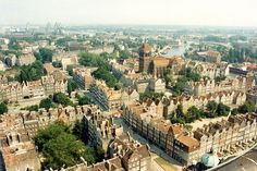 Gdansk from the tower of St Mary's Church, Poland, 28 July 1994 [94/22]