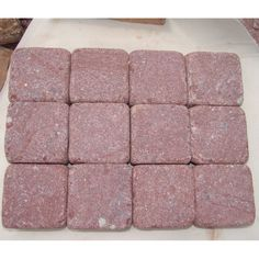 Pavement Cube Purple Porphyry Road Cheap Patio Paver Stones For Sale China Supplier Outdoor Patio Pavers, Outdoor Patio Designs, Paver Walkway, Brick Pavers, Cobblestone Pavers, Paver Stones, Patio Layout, Precast Concrete, Pavers Ideas