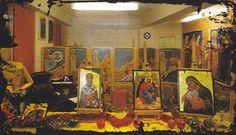 workshop Byzantine Icons, Workshop, Painting, Art, Craft Art, Atelier, Paintings, Kunst, Gcse Art