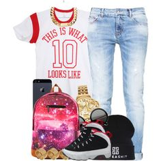 Outfit + Accessories, created by oh-aurora on Polyvore