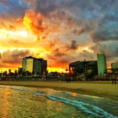 La Barceloneta - just over a month until my vacation in Barcelona!