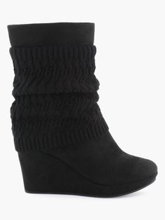 cb62e794cab5d LA HALLE CHAUSSURES Shoe Boots, Chunky Heel Boots, Shoe Collection, Trendy  Outfits