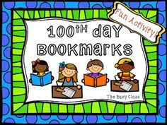 Make the 100th Day of School into a celebration! Check out my 100th Day of School Trail Mix freebie and use these as fun bookmarks or mini certificates!