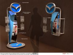 Creative Point of purchase displays and exhibition booths for trade-shows created by TriadCreativeGroup.com inspired by artistic design and architecture. Give us a call at (262) 781-3100 (The image above does not belong to us) Ours are better ;)