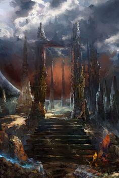 ArtStation - Enter The Red, Sergey Musin