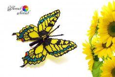 Брошки-бабочки