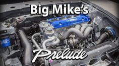 Big Mike 92 Honda Prelude turbo at 2016 SEMA #honda #prelude #1992 #big #mike #turbo #sema #2016